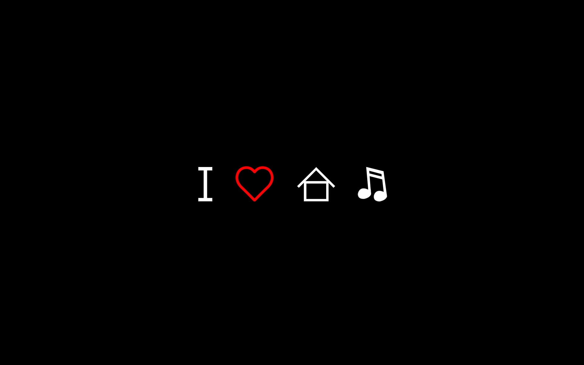 Love House Music Wallpapers I Love House Music Myspace Backgrounds 1920x1200