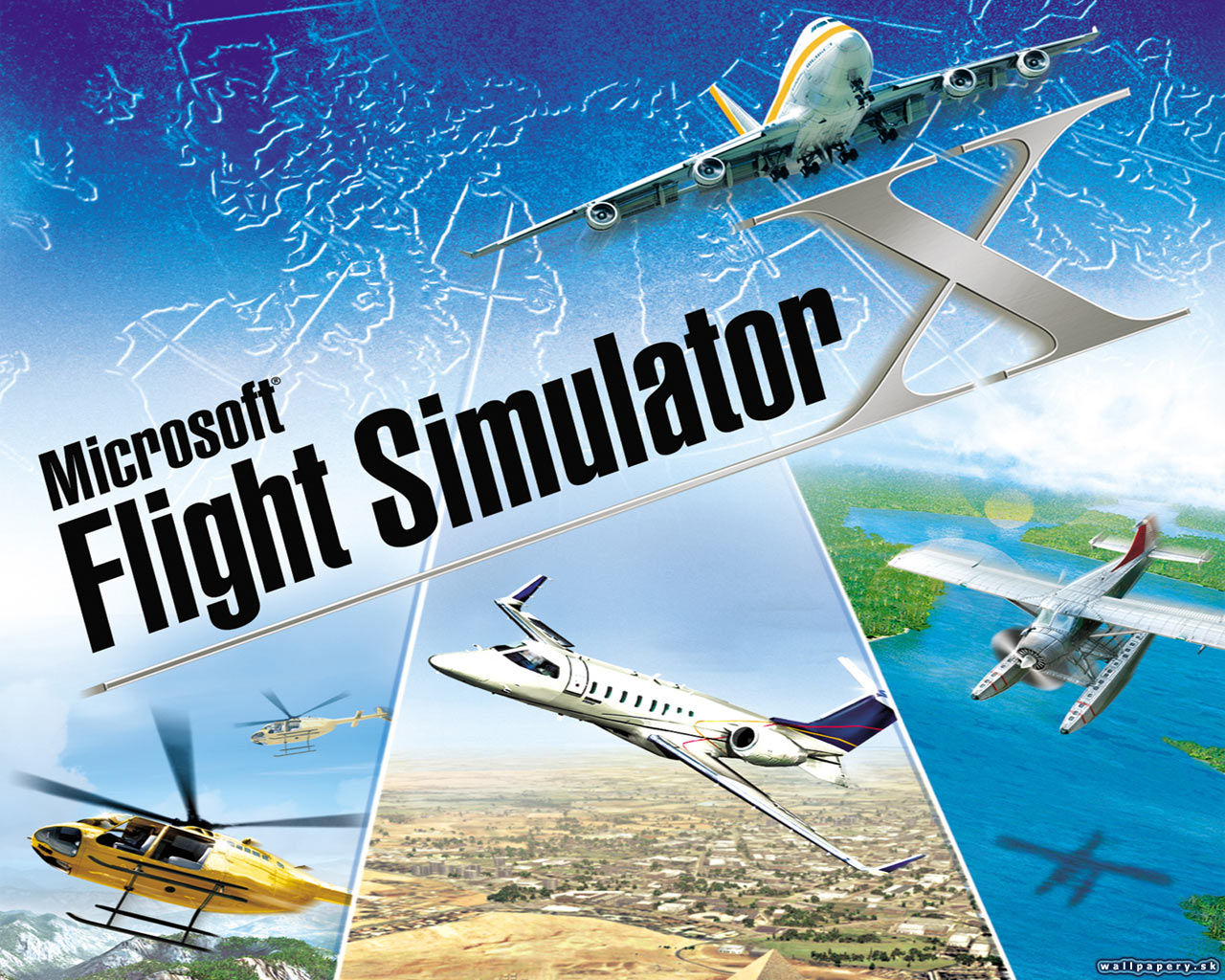 Microsoft Flight Simulator X   wallpaper 1 ABCgamessk 1280x1024