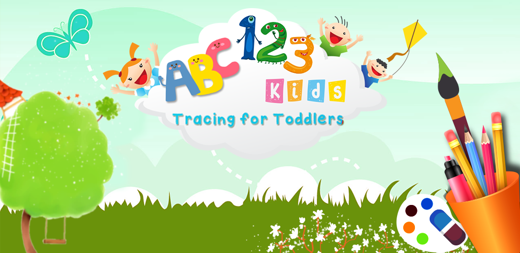 ABC 123 Tracing for Toddlers   Learn Alphabet letters and Numbers 1024x500
