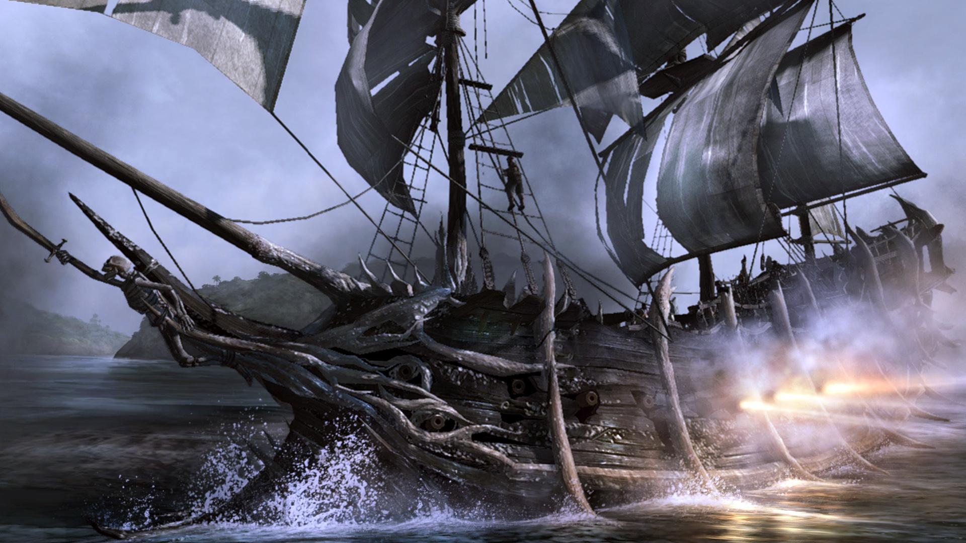 3D Pirate Ship Wallpaper on WallpaperSafari