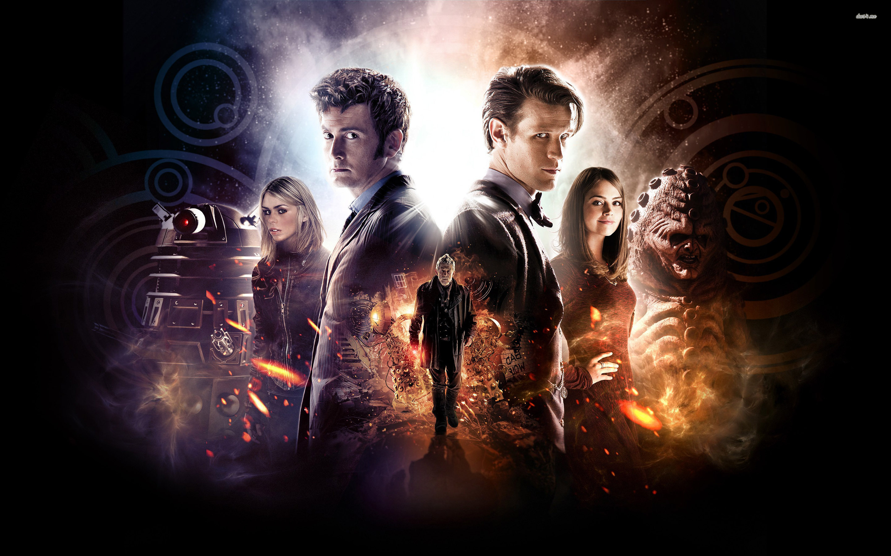Doctor Who 50th Anniversary Poster wallpapers HD   388912 2880x1800