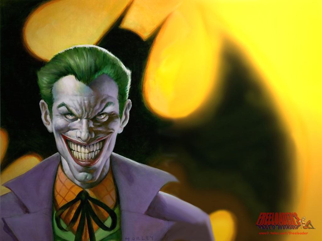 The Joker Comic Wallpaper 1024x768