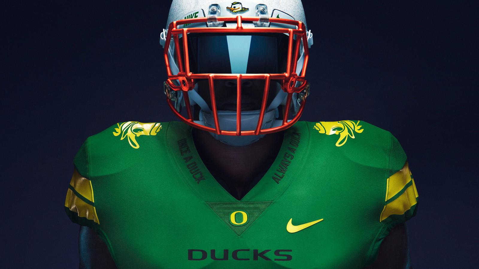 University of Oregon Once a Duck Football Uniforms   Nike News 1600x900