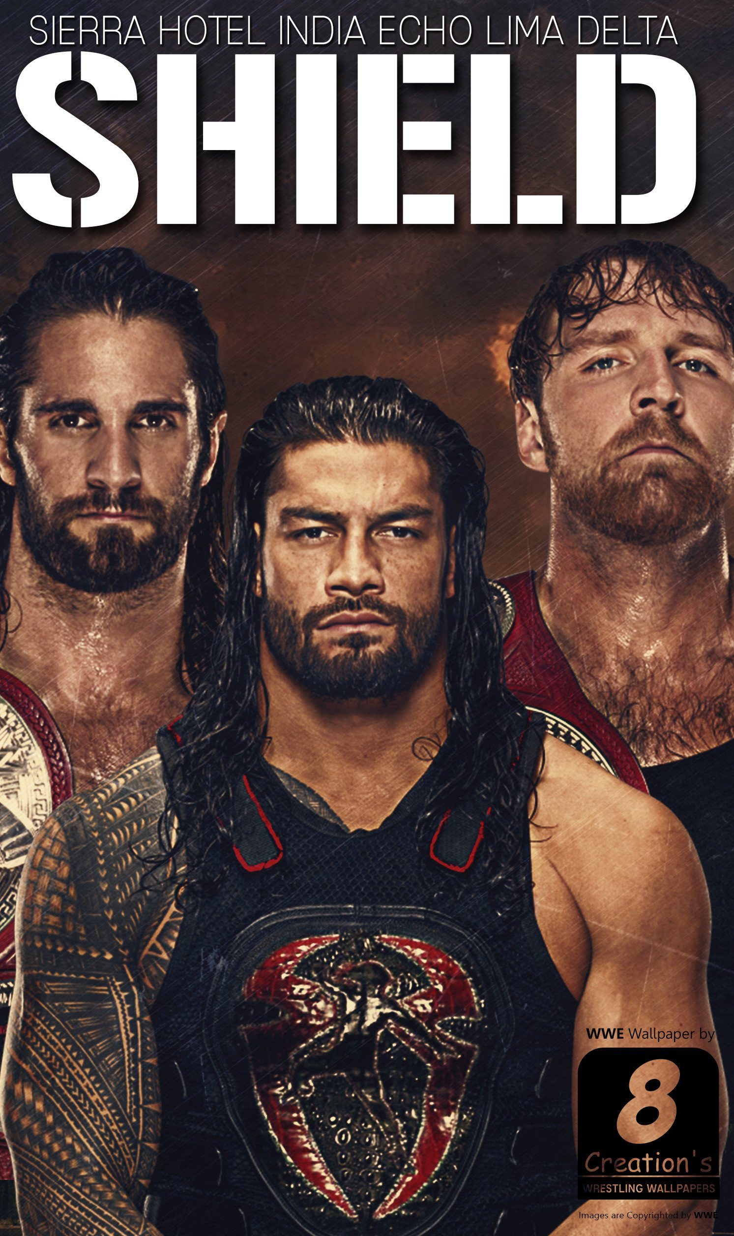WWE the Shield Wallpapers 84 images 1493x2512