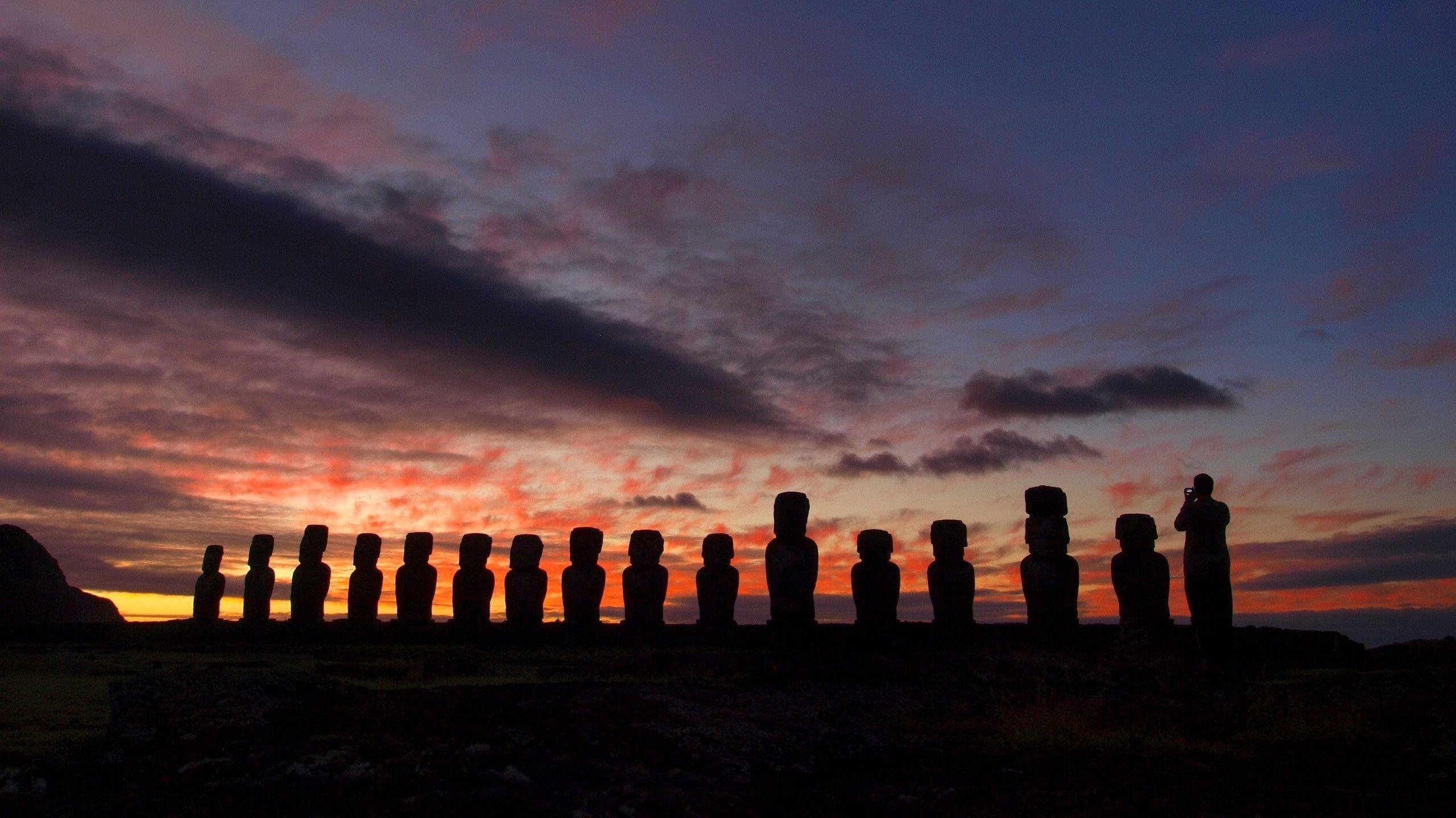 Easter Island Wallpapers 2560x1440