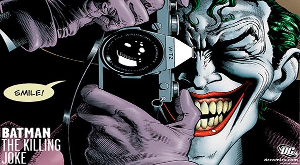 The Killing Joke Joker Wallpaper Read the killing joke 620x340