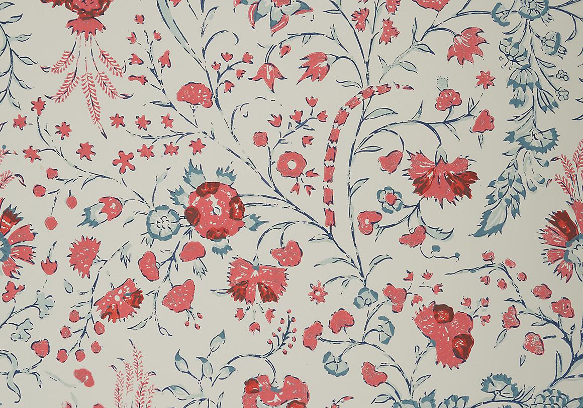 Dianthus Chintz Wallpaper   Imari Soane 1160x813