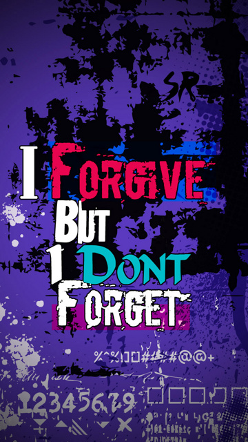 Download I forgive   Signs and sayings For mobile cell phone 360x640
