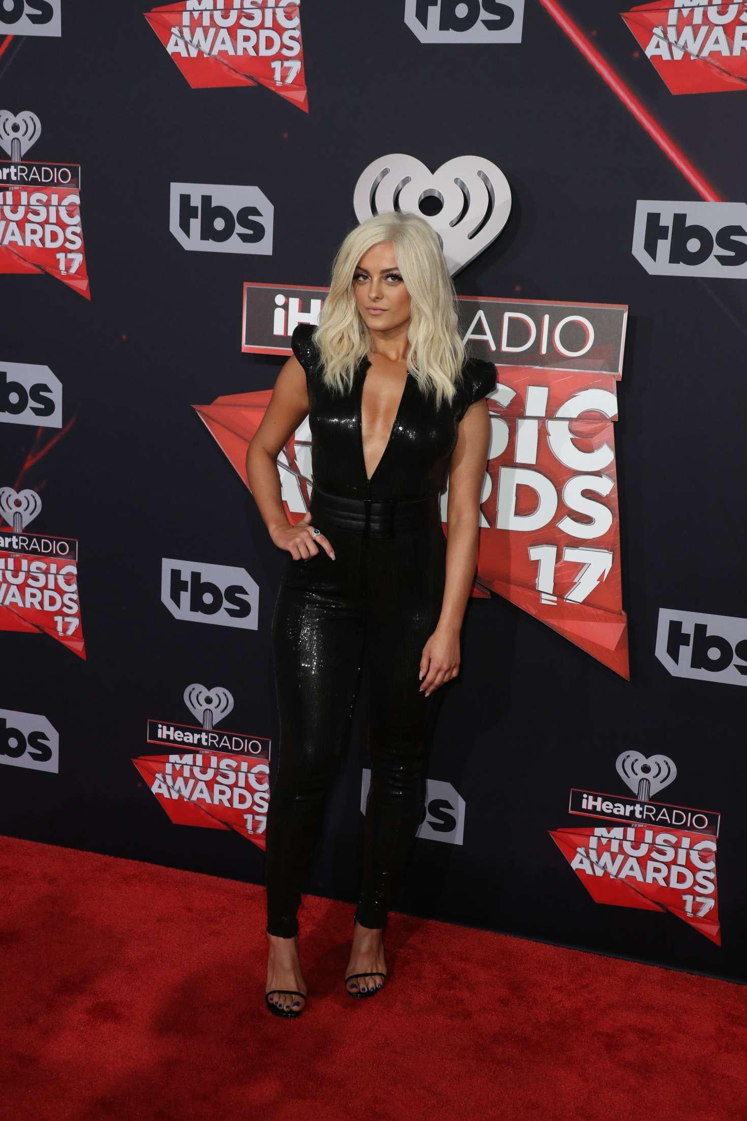 Bebe Rexha 2017 iHeartRadio Music Awards  10   GotCeleb 1470x2205