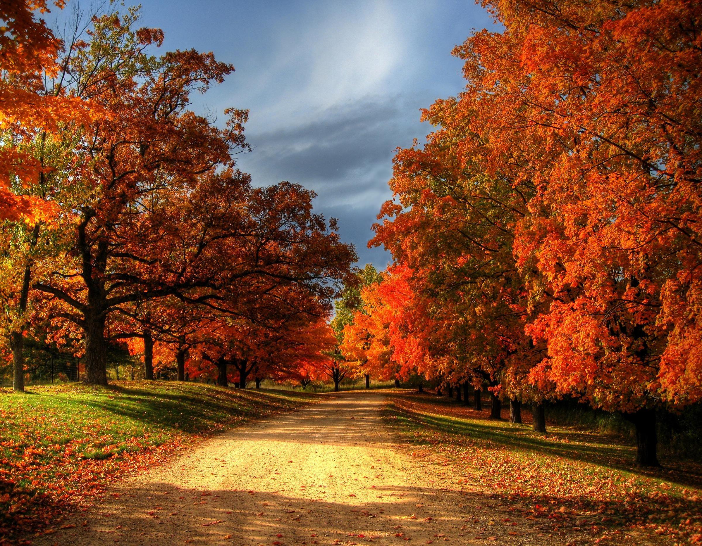 Fall Country Scenes Wallpaper - WallpaperSafari