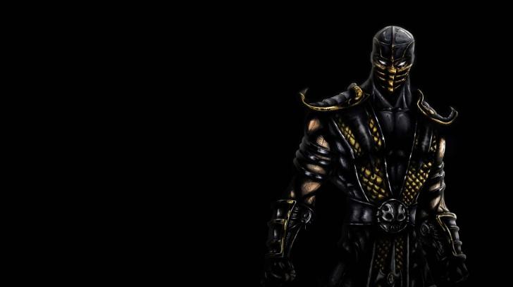 Wallpaper Mortal Kombat Scorpion   Wallpapers HD Download 728x408