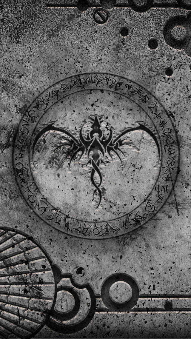 Free Download Dragon Grunge Wallpaper Iphone Wallpapers