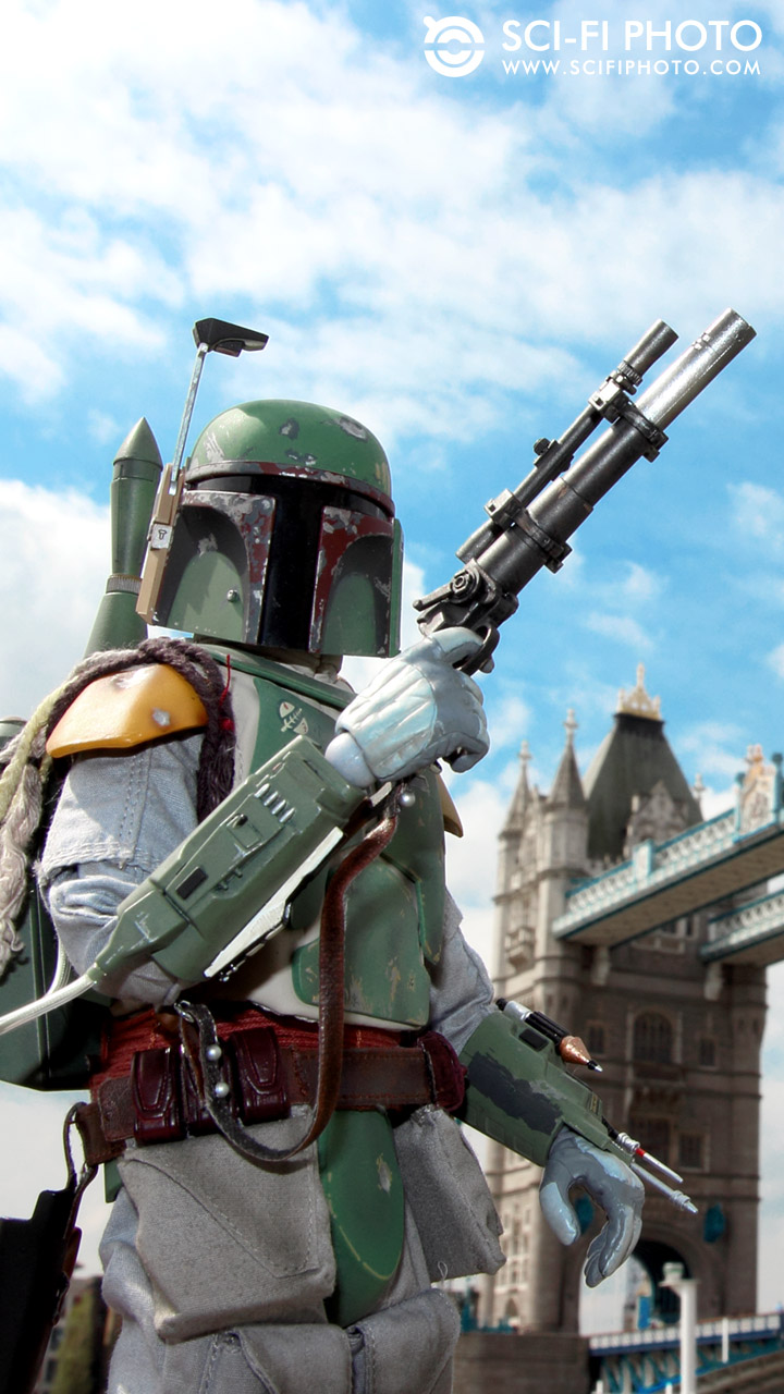 Boba Fett Iphone 5 Wallpaper In London Tower 720x1280