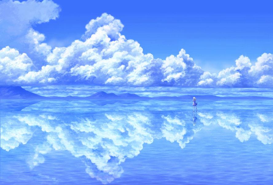 Anime Cloud wallpaper   ForWallpapercom 889x605