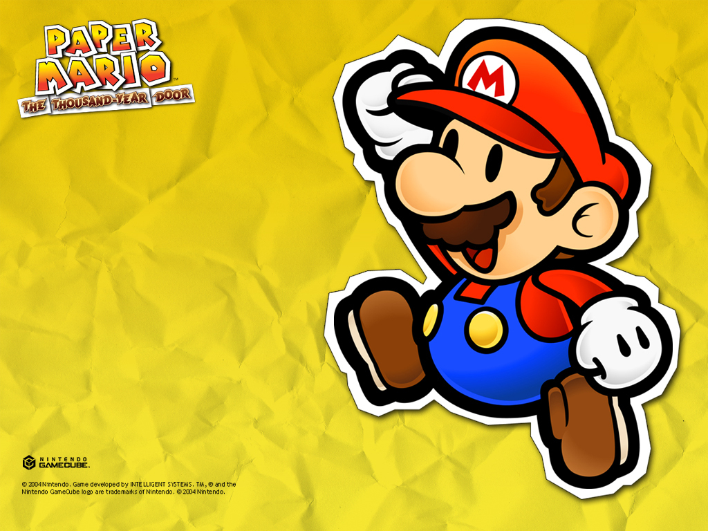 Free Download Paper Mario 2 Images Paper Mario The Thousand Year