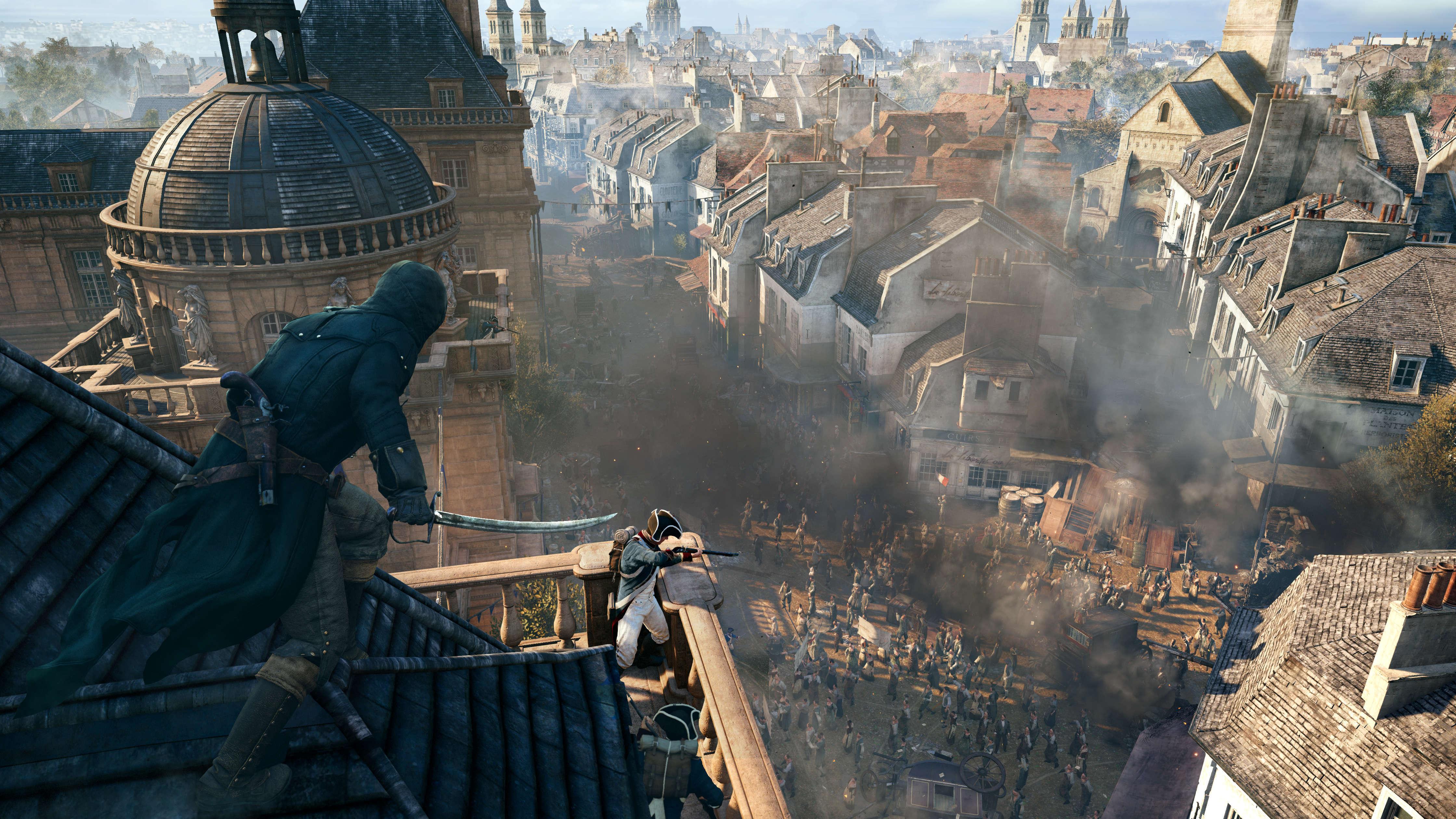 Free Download Wallpaper Assassin Creed Unity 03 Hd Wallpaper