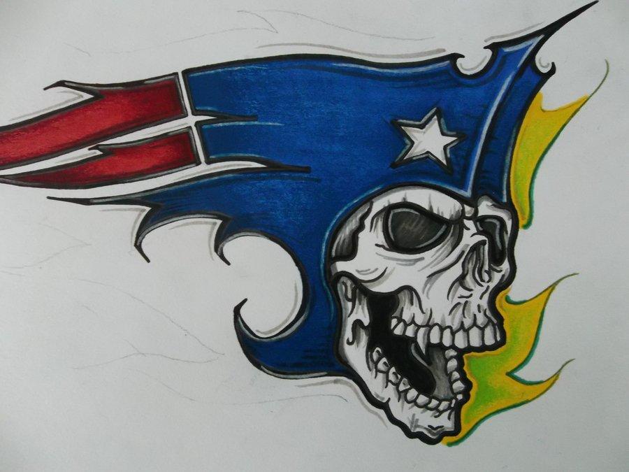 Patriots Logo Wallpaper New patriots logo by tinnoka 900x675