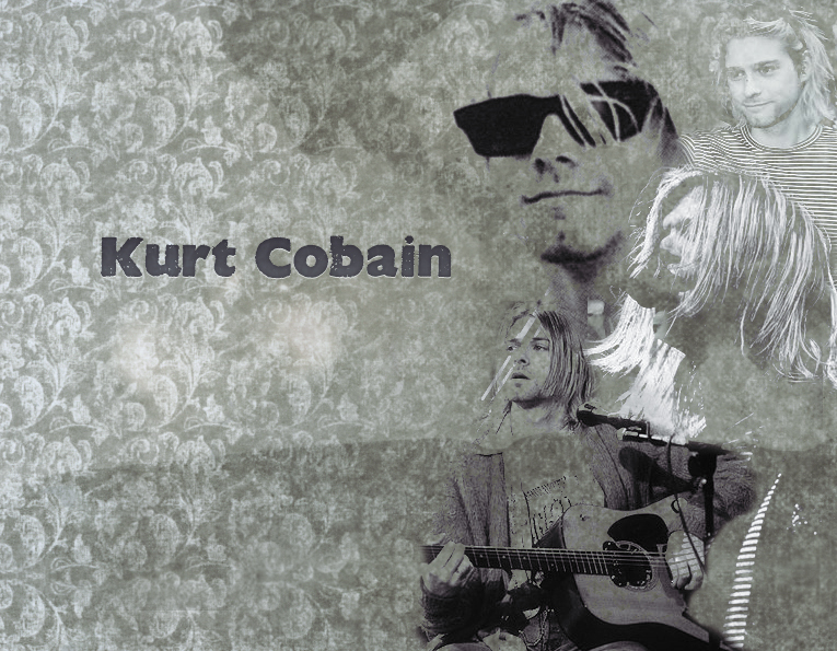 kurt cobain desktop wallpaper by shame you fan art wallpaper 765x595