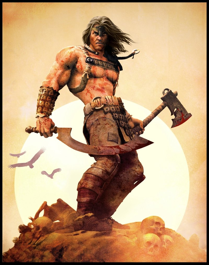 conan the barbarian 4000x5086 wallpaper Video Games Age of Conan 800x1017