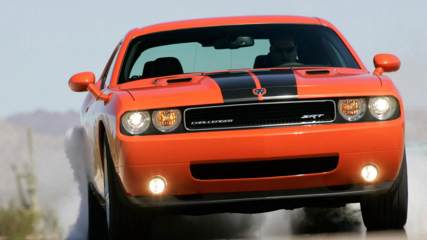 Geigercarsde Dodge Challenger Srt8 Desktop Wallpaper Hd 1366x768 1366x768
