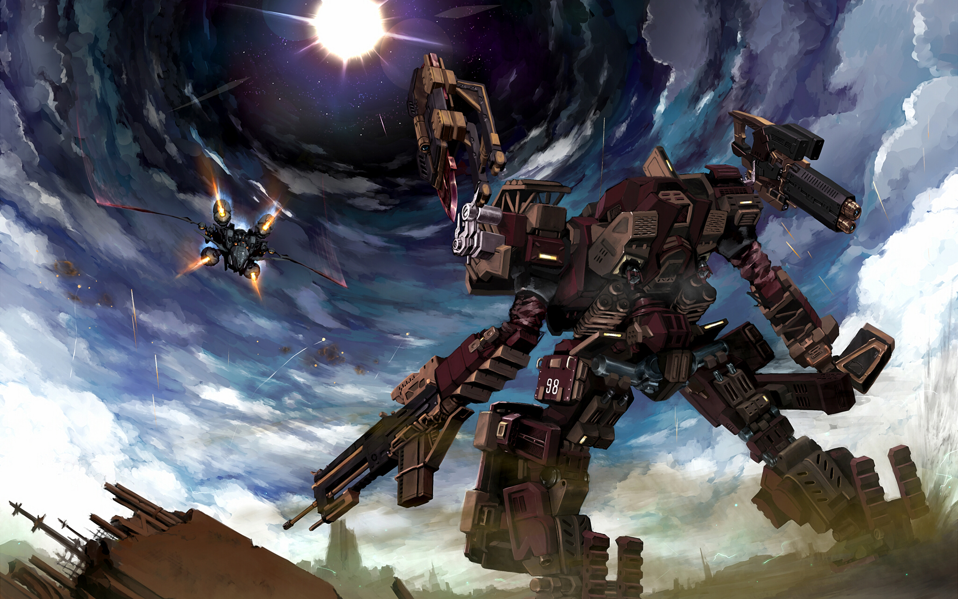 74 Armored Core Wallpaper On Wallpapersafari