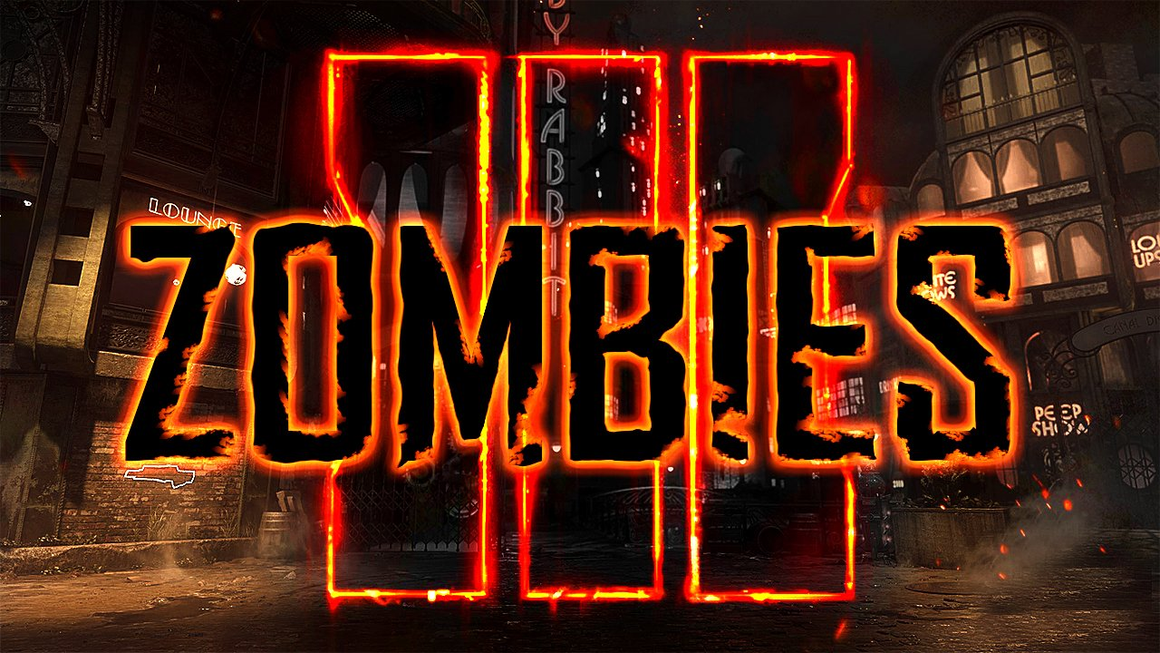 Call of Duty Black Ops 3 Zombies Thumbnail Template 1280x720