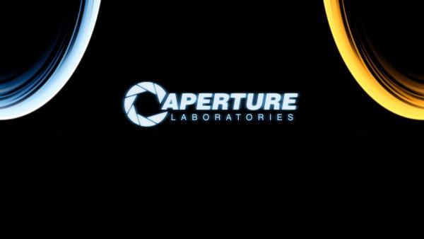 Epic Aperture Labs Portal Wallpaper HD 600x338
