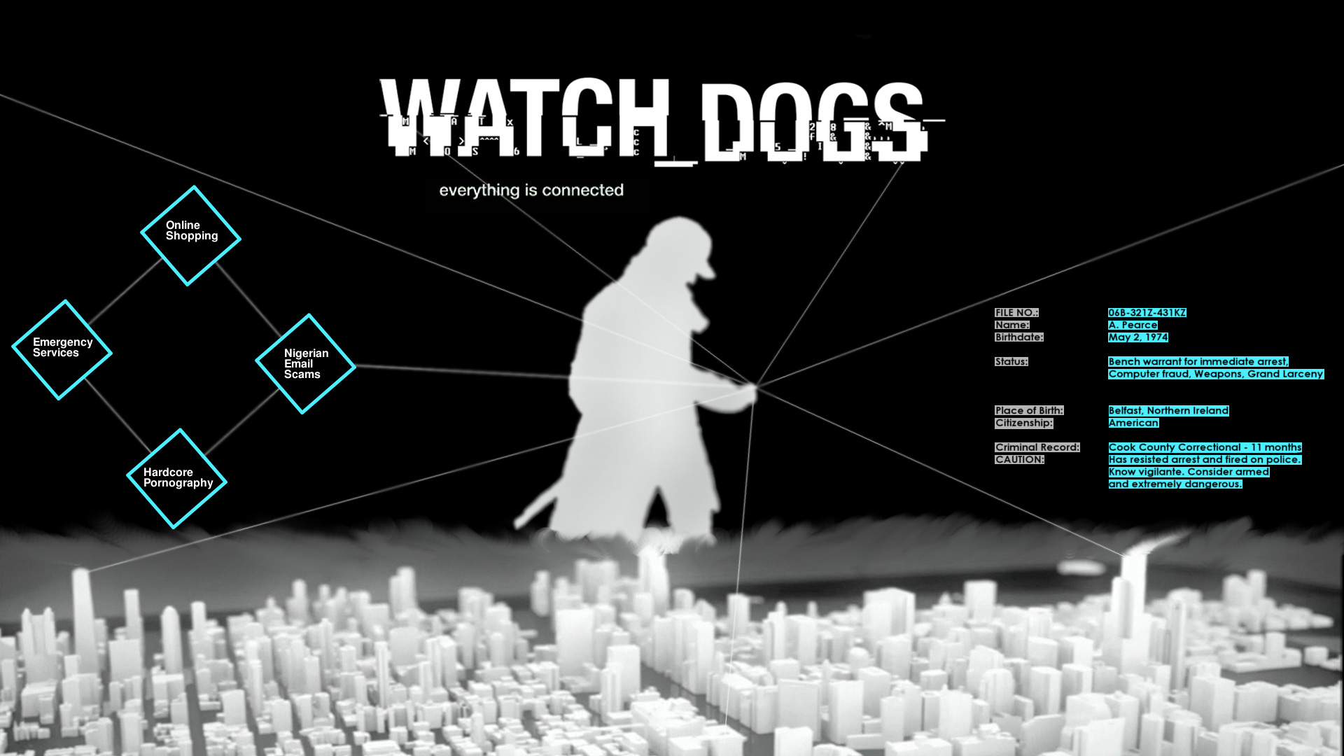 Watch Dogs Wallpaper HD Page 2 1920x1080