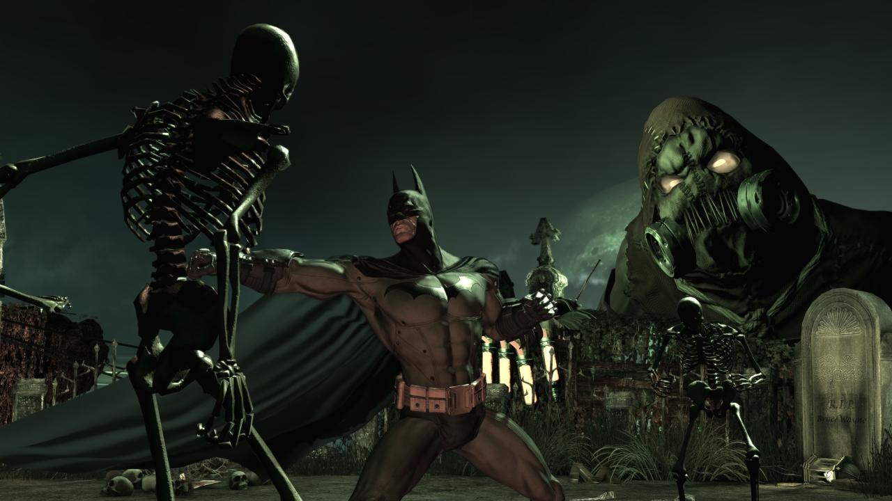 Batman Arkham Asylum Scarecrow Wallpaper Batman arkham asylum 1280x720