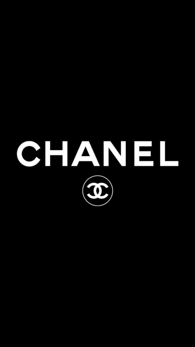 Chanel Logo Wallpaper   iPhone Wallpapers 640x1136