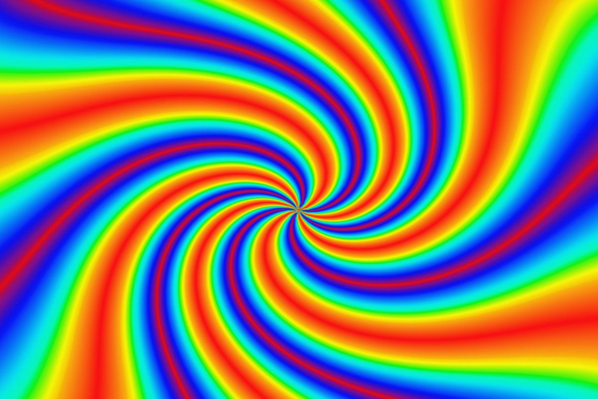 Backgrounds Hd Tie Dye Colorful Vortex Swirls Wallpaper: Colorful Trippy Wallpapers