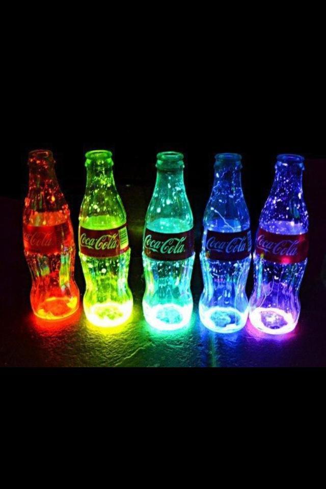Cool Neon Lights Coca cola cool lights neon 640x960