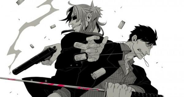 [48+] Gangsta Manga Wallpaper on WallpaperSafari