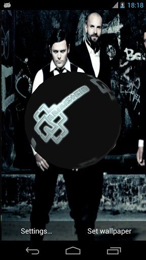 your favorite rammstein logo to your phone rammstein 3d live wallpaper 288x512