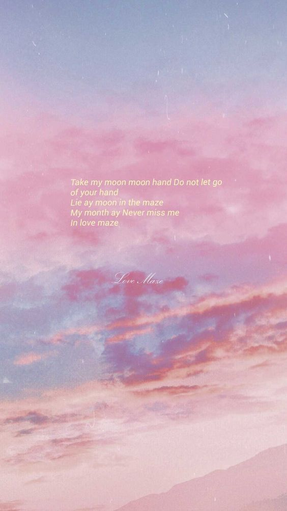 clouds pink clouds clouds pinkclouds Bts quotes in 2019 564x1003