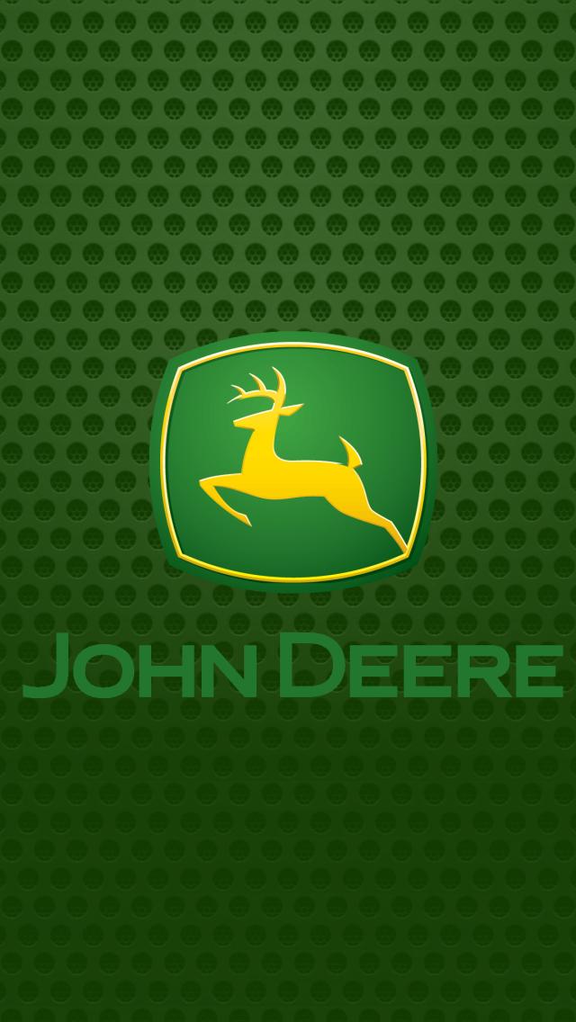 John Deere logo Wallpaper 640x1136