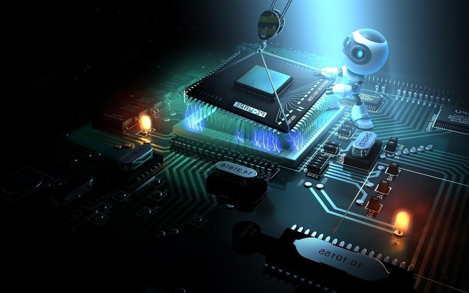 built by 3d robot windows 8 desktop wallpaper 1920x1200 1600x1000