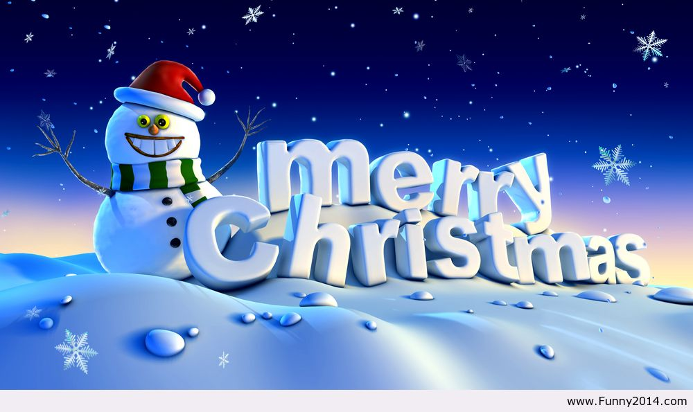 Merry Christmas wallpaper Funny2014   image 1092307 by 1000x595