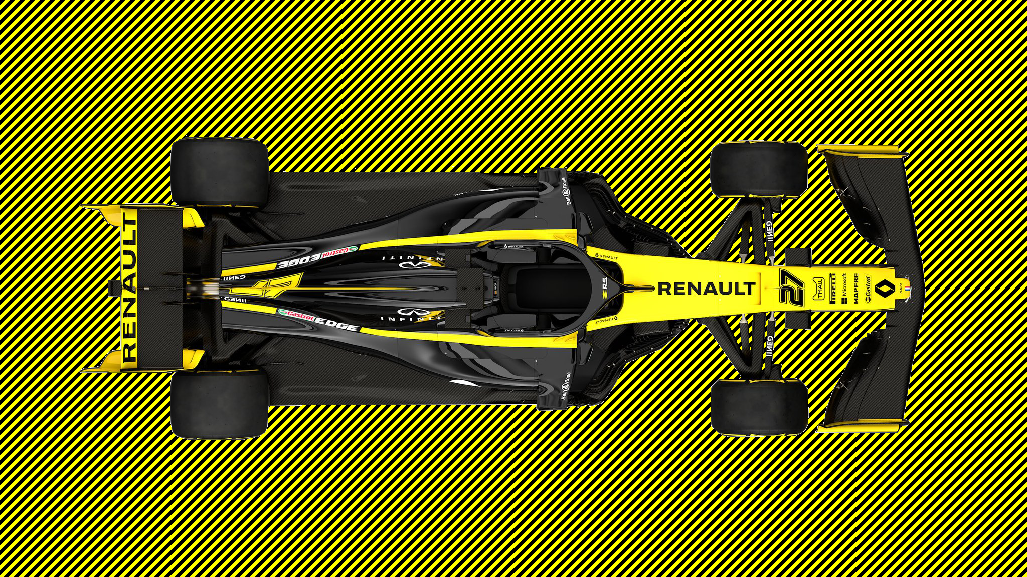 Quick edit of Renault RS 19 for a wallpaper please hire me as 2048x1152