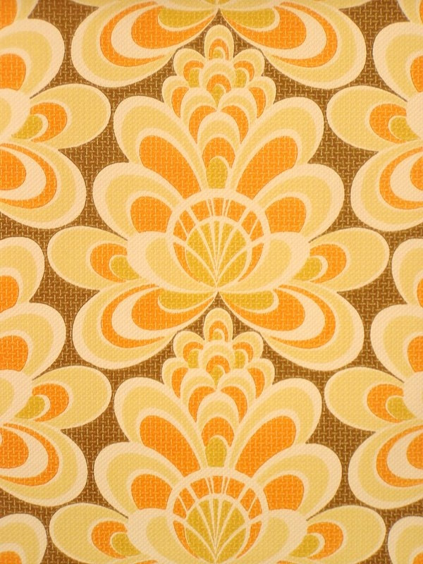 Retro geometric wallpaper from the 70s   Vintage Wallpapers 600x800
