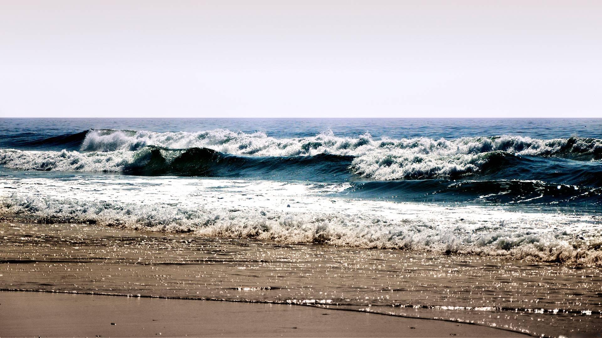 Beach Waves Wallpapers For Desktop Beach Waves: Beach Waves Wallpaper