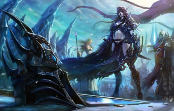 Wallpaper wow world of warcraft wotlk wrath of the lich king 596x380