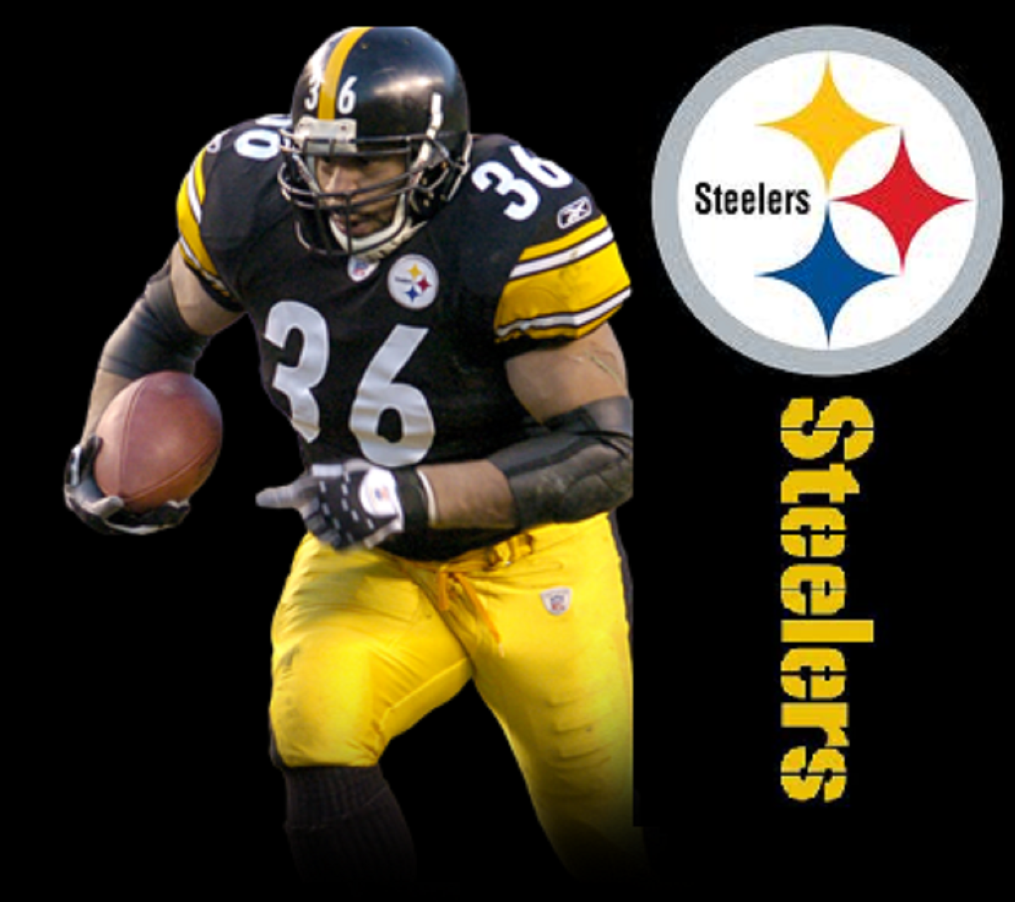 Steelers Jerome Bettis Wallpaper phone wallpaper by lazerpost 1440x1280