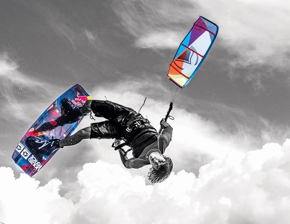 Wake style kiteboarding wallpaper Cristophe Tack inverted handle pass 1140x881