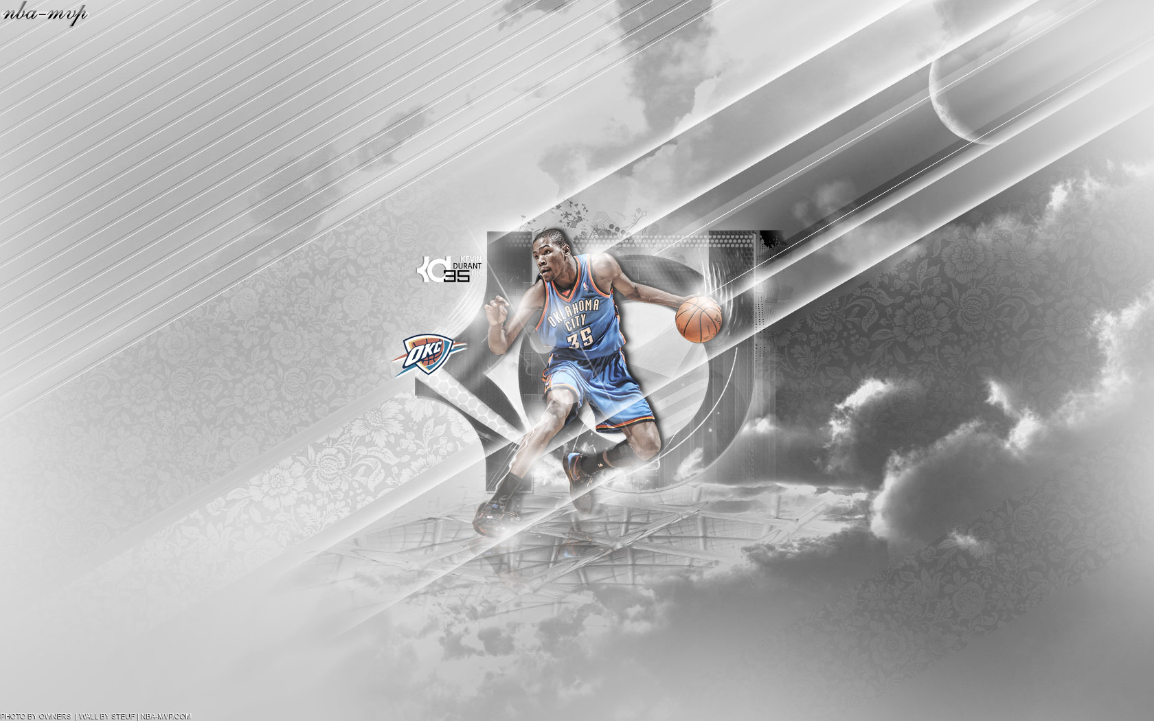 Kevin Durant Widescreen Wallpaper NBA Picture Gallery 1680x1050