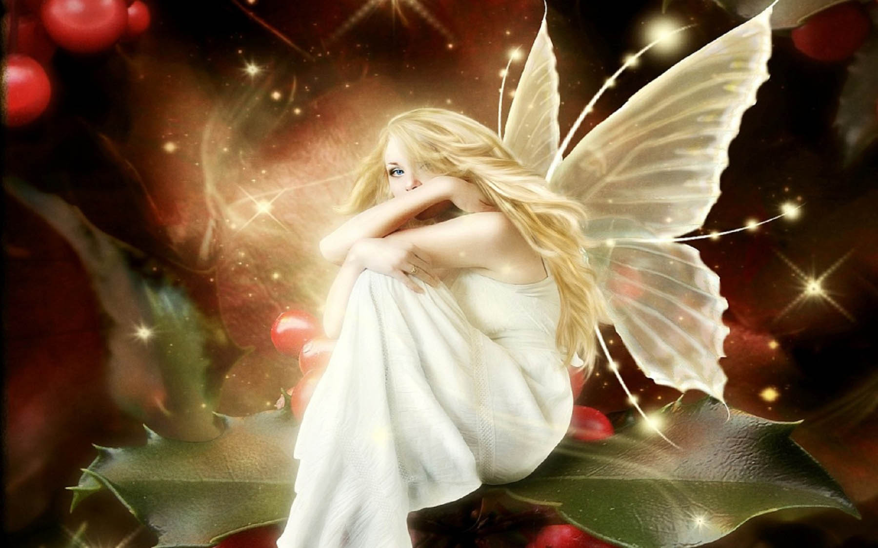 Beautiful Christmas Angel Wallpapers Daily Backgrounds in HD 1800x1125