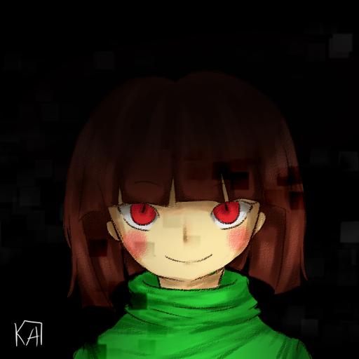 UNDERTALE] Chara by XxkaibutsukoxX 512x512