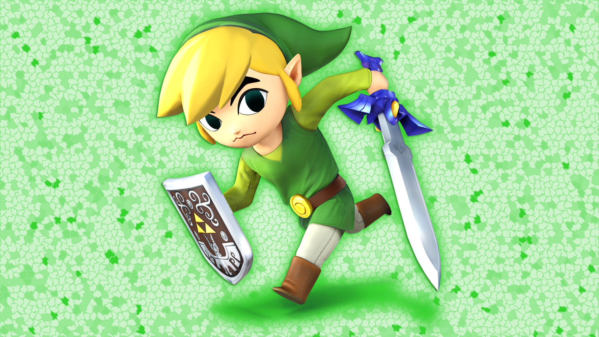 Toon Link Wallpaper by Glench 1920x1080