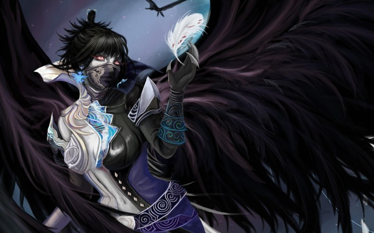 Category Anime Wallpapers Dark Demon Gothic Mask  4046x2241 px 736x459