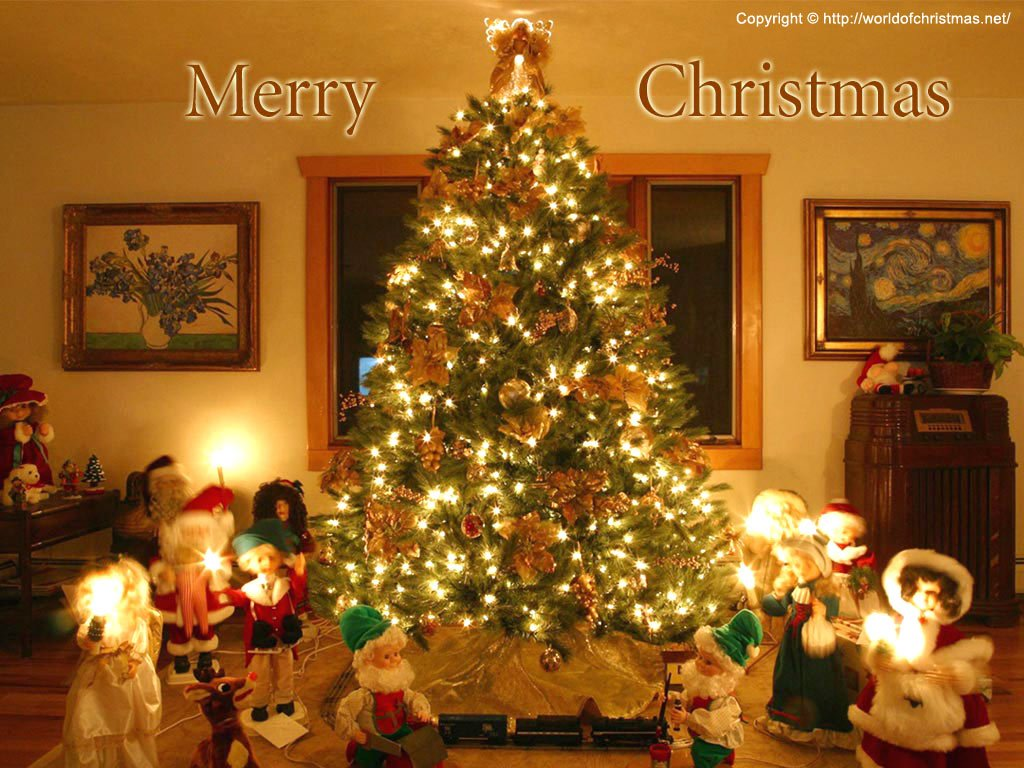 Christmas Holiday Wallpaper   Christmas Holiday 1024x768